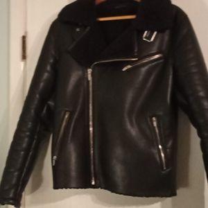 Zara Man motorcycle jacket